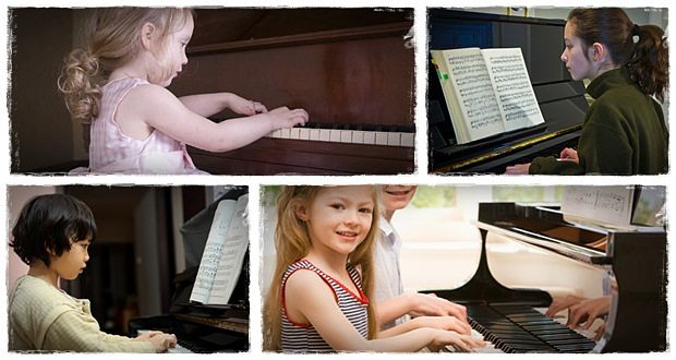 how to play piano for beginners children