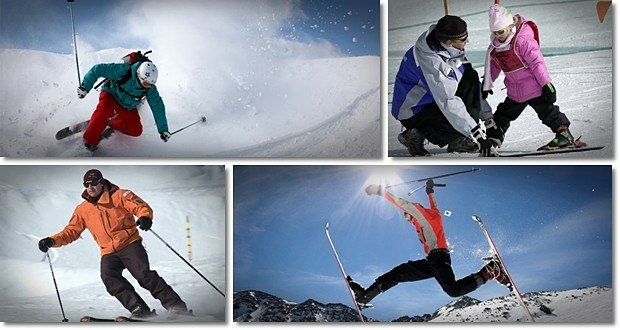 skiing tips for beginners exercises