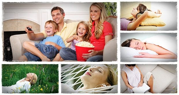 ways to relax at home download