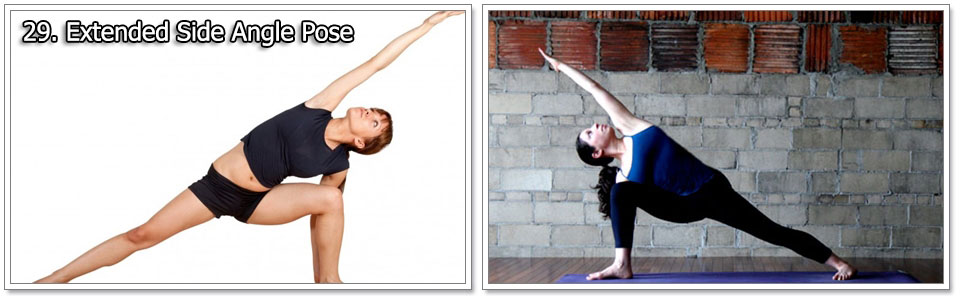 Extended Side Angle Pose - Yoga Exercises