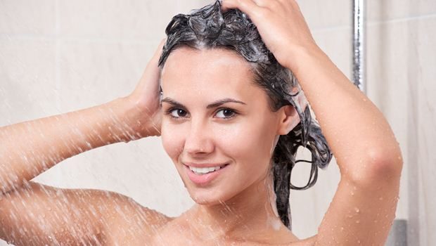 focus shampoo on your scalp