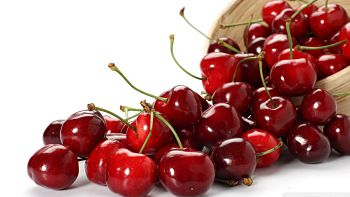 healthiest fruits and vegetables with cherry