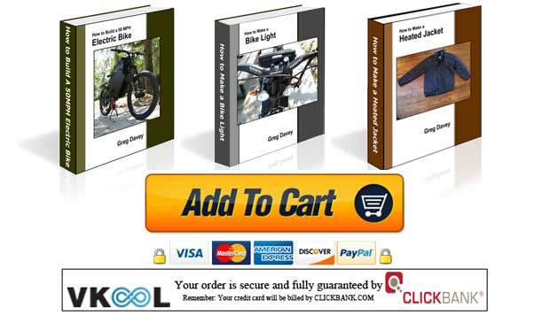 How to build a 50mph electric bike ebook download