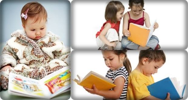 Children learning reading program by Jim and Elena