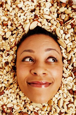 health benefits of nuts and seeds book for skin
