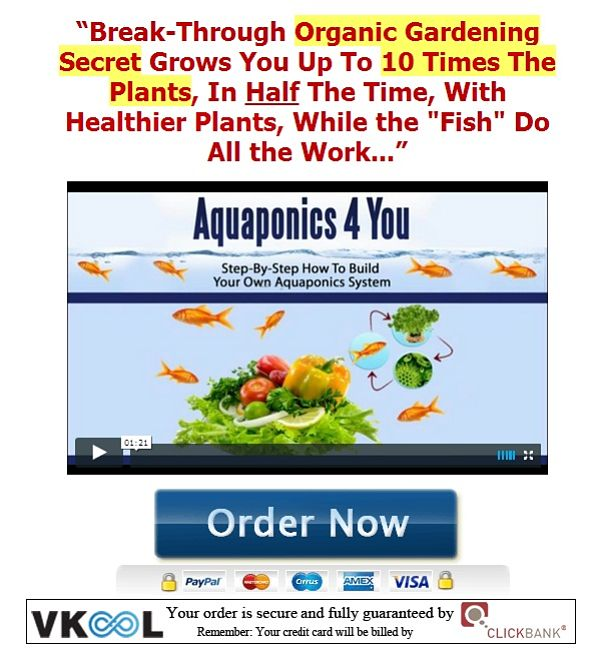 Aquaponics 4 you review order