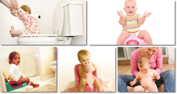 Start potty training in 3 days system