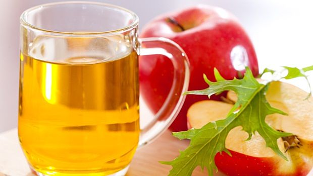 treating food poisoning - apple cider vinegar