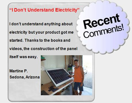 Green diy energy testimonial