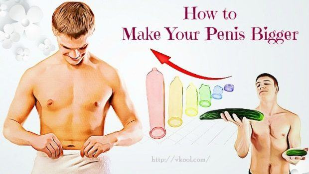 Tips to get a bigger dick