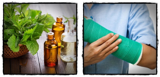 wrist pain treatment - peppermint oil rub