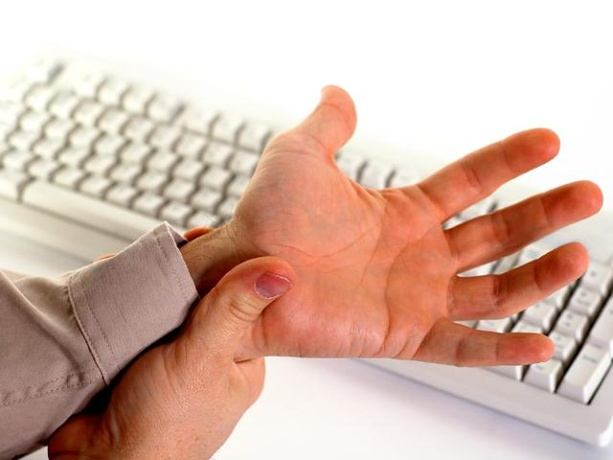 wrist pain treatment - stop using your wrists too much