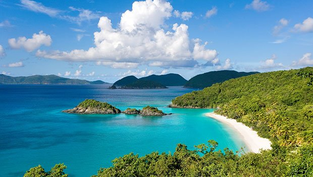 The us virgin island