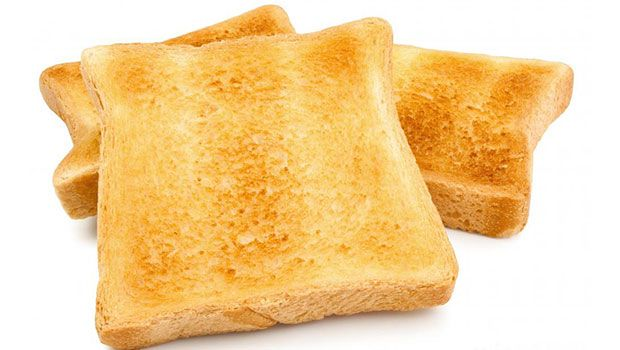 worst foods to eat before bed - toast