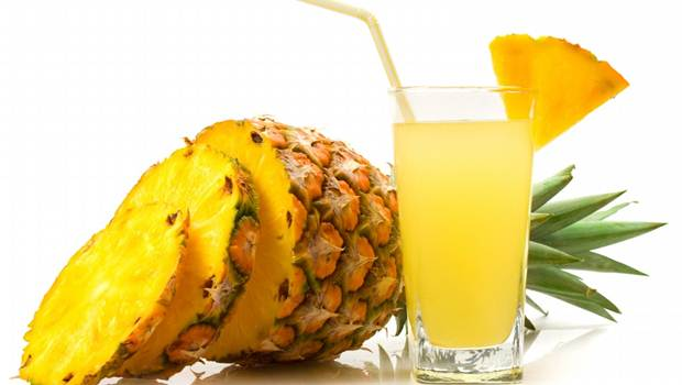 how to treat heartburn - pineapple