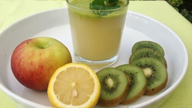 apple and kiwi juice