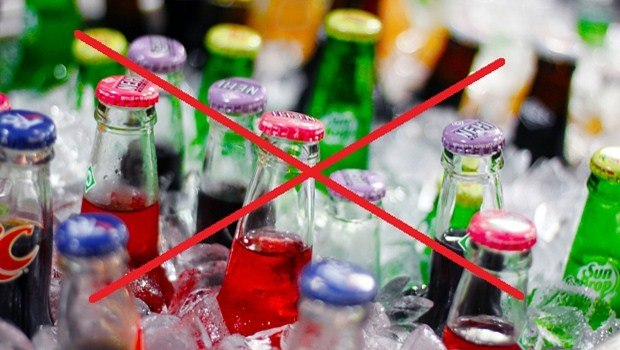 avoid sugary drinks like soda