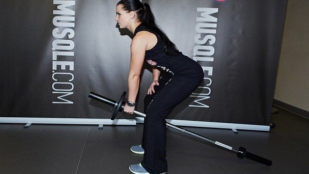bent over one arm long bar row download