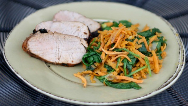 chili glazed pork with sweet potato hash download
