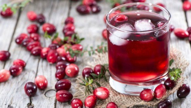 cranberries juice