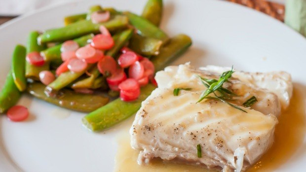 halibut with sugar snap pea salad download