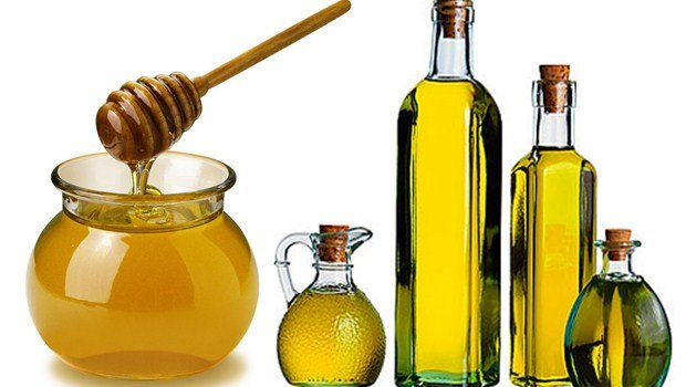 honey and olive oil – the special home-made lotion for breasts massaging