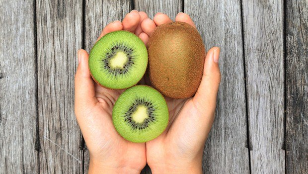 kiwi is a naturally organic fruit