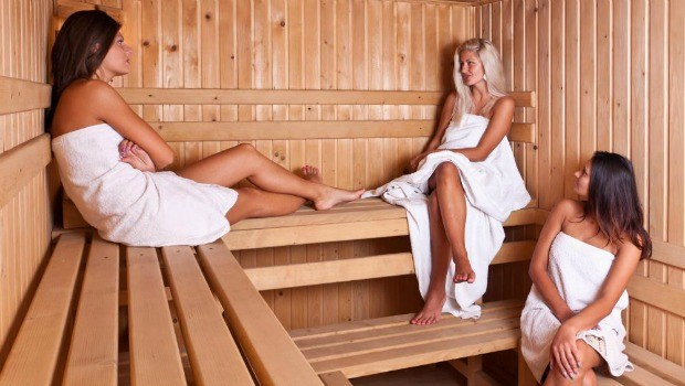 benefits of steam room and sauna therapy program