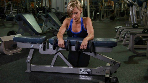 palms down wrist curl over a bench download