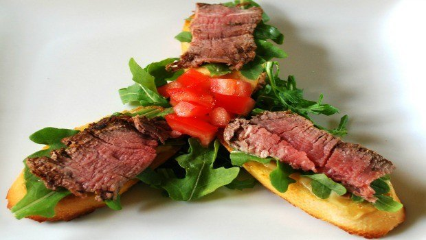 filet mignon with arugula salad download