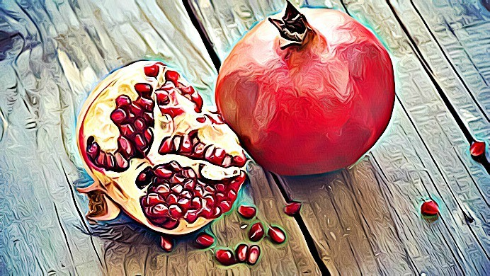 beauty benefits of pomegranate