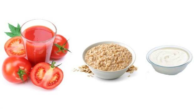tomato, oatmeal and yogurt download