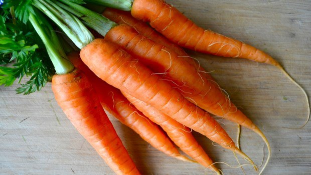 biotin rich foods-carrots