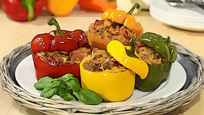 bell pepper recipes for vegetarians