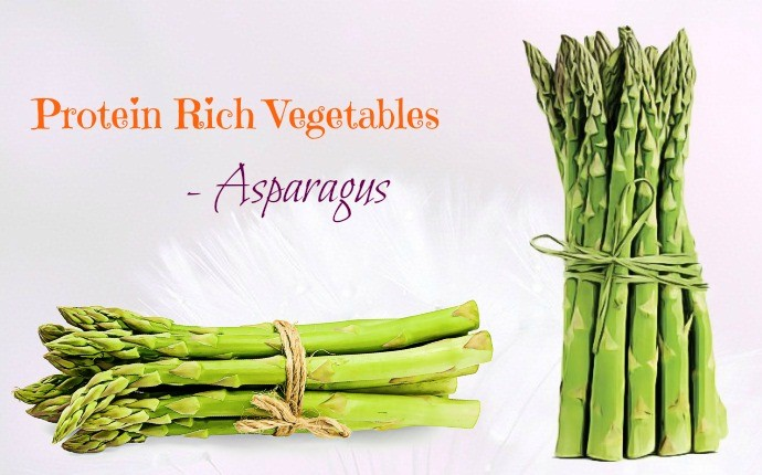 protein rich vegetables - asparagus