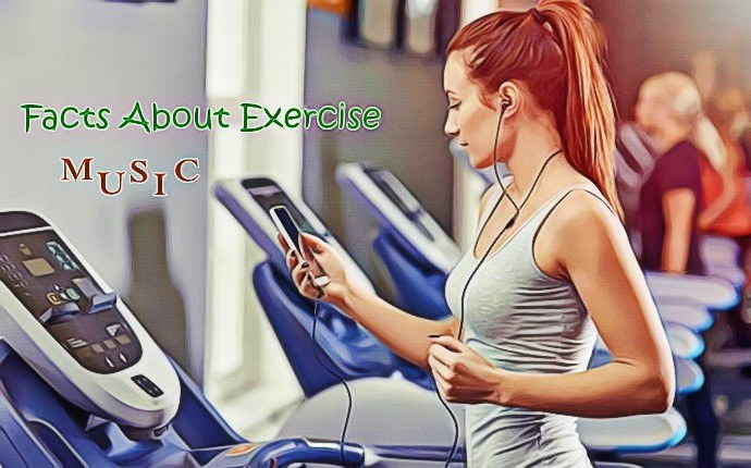 facts about exercise - music