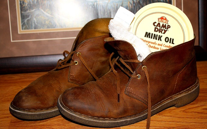 how to soften leather - mink oil
