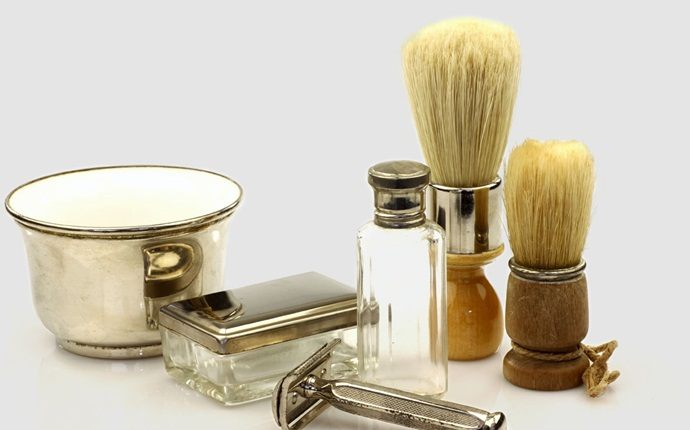 how to soften leather - use shaving cream