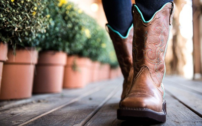 how to soften leather - walking around in your boots to soften them