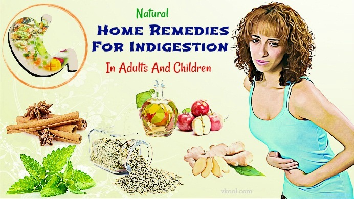 home remedies for indigestion in children