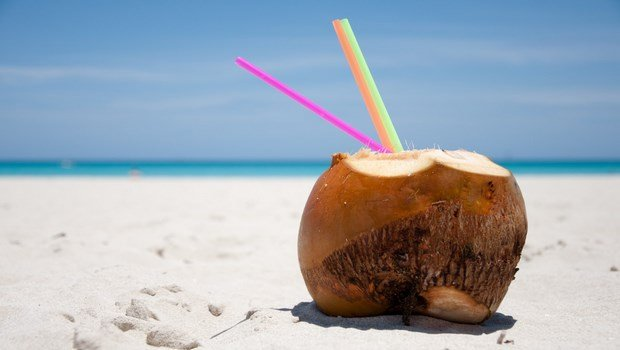 how to remove sun tan-coconut water and sandalwood