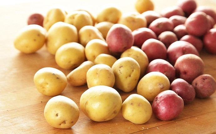 how to get rid of mustache - potatoes and lentils