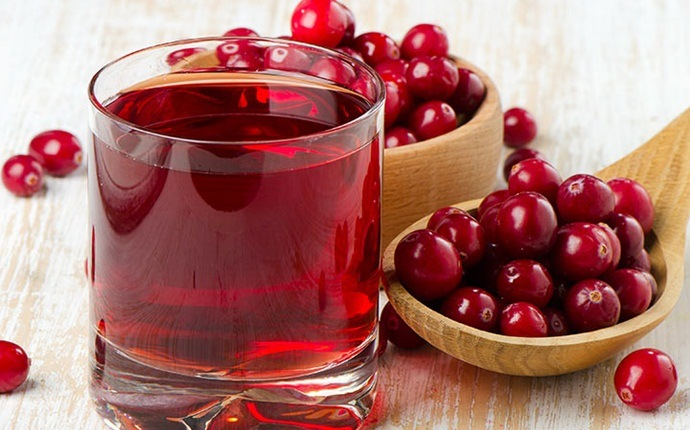home remedies for skin fungus - cranberry juice