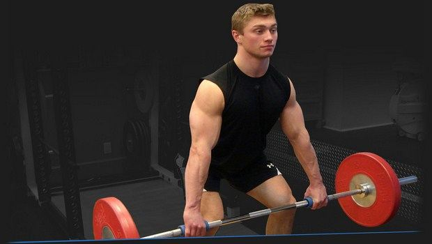 how to build arm muscle - train your arms with thick barbell