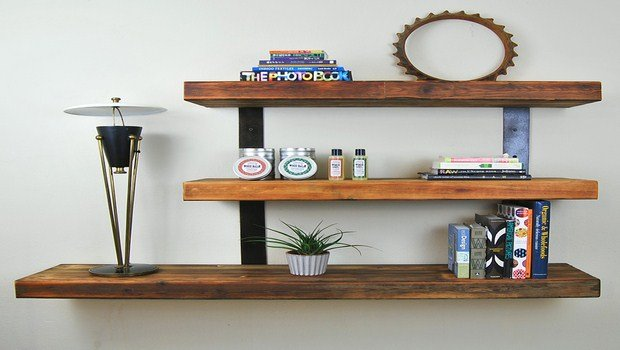 how to decorate your house-floating shelves