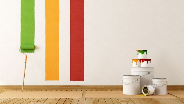 how to decorate your house-painting the walls