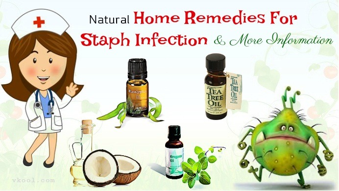 home remedies for staph infection on face