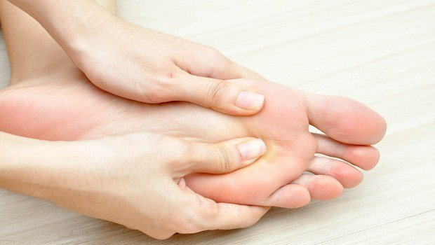 home remedies for Muscle cramps-massage gently