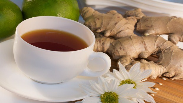 home remedies for ear congestion-ginger tea