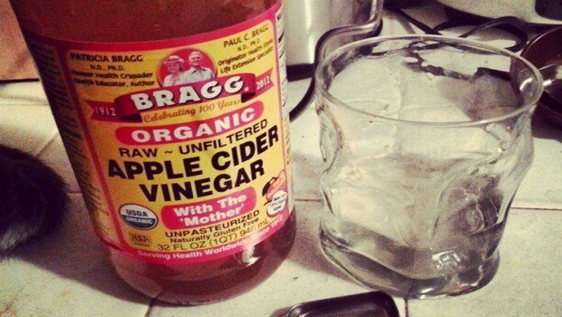 home remedies for gas pain-apple cider vinegar